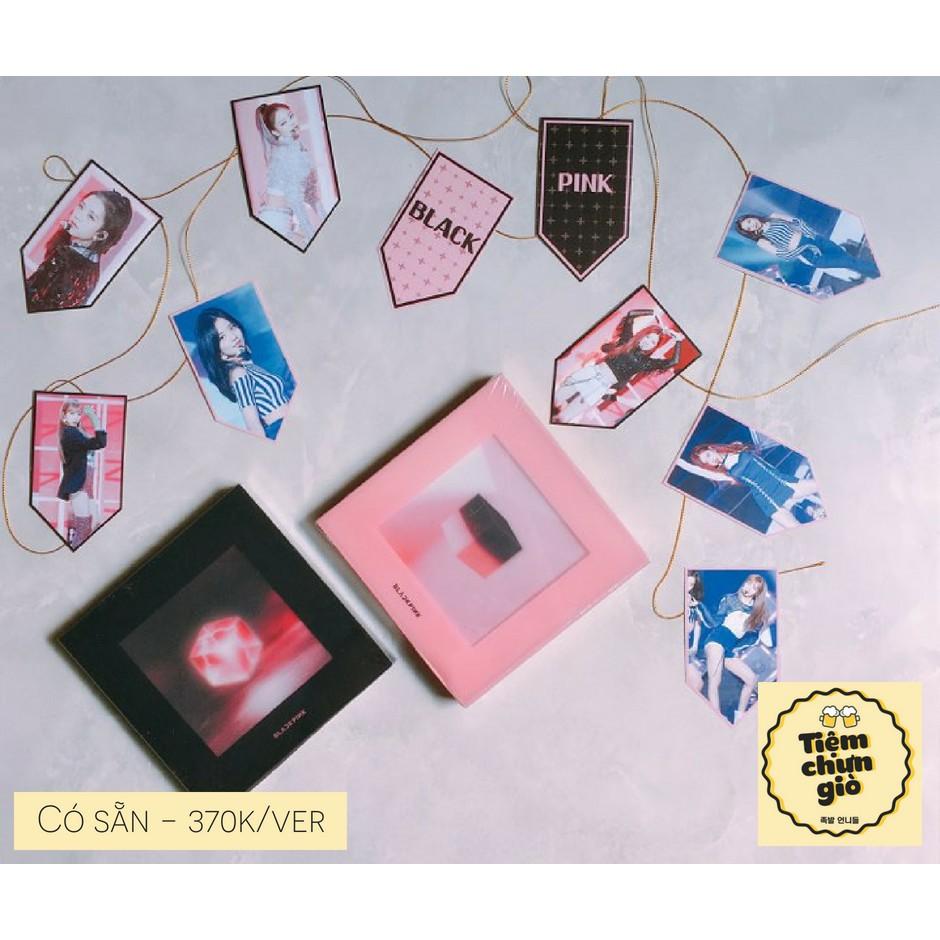 [Có sẵn] BLACK PINK - Mini album vol 1 - SQUARE UP có poster + gift