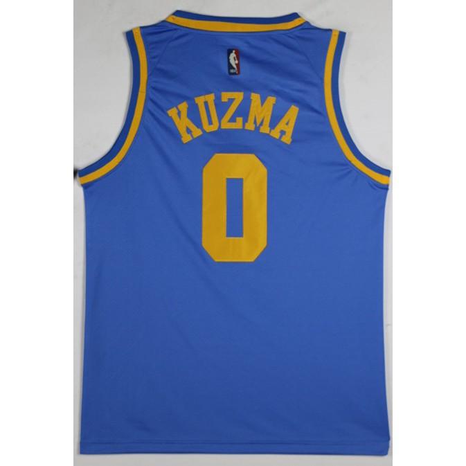 pretty nice c1d1a a8401 NBA Lakers No. 0 Kyle Kuzma Yuelan Nike Retro Jersey - NBA ...