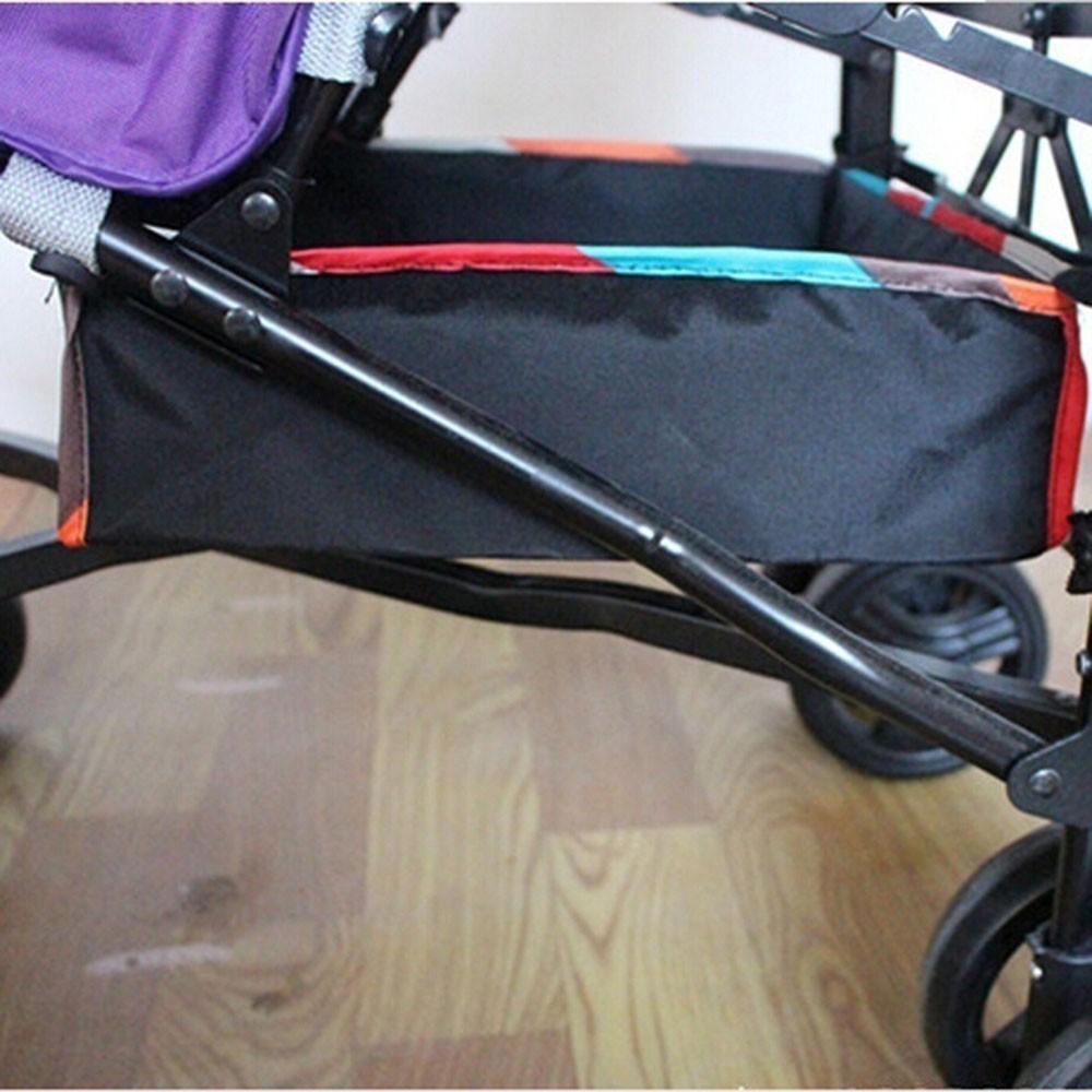 Rổ đựng đồ gắn xe đẩy em bé