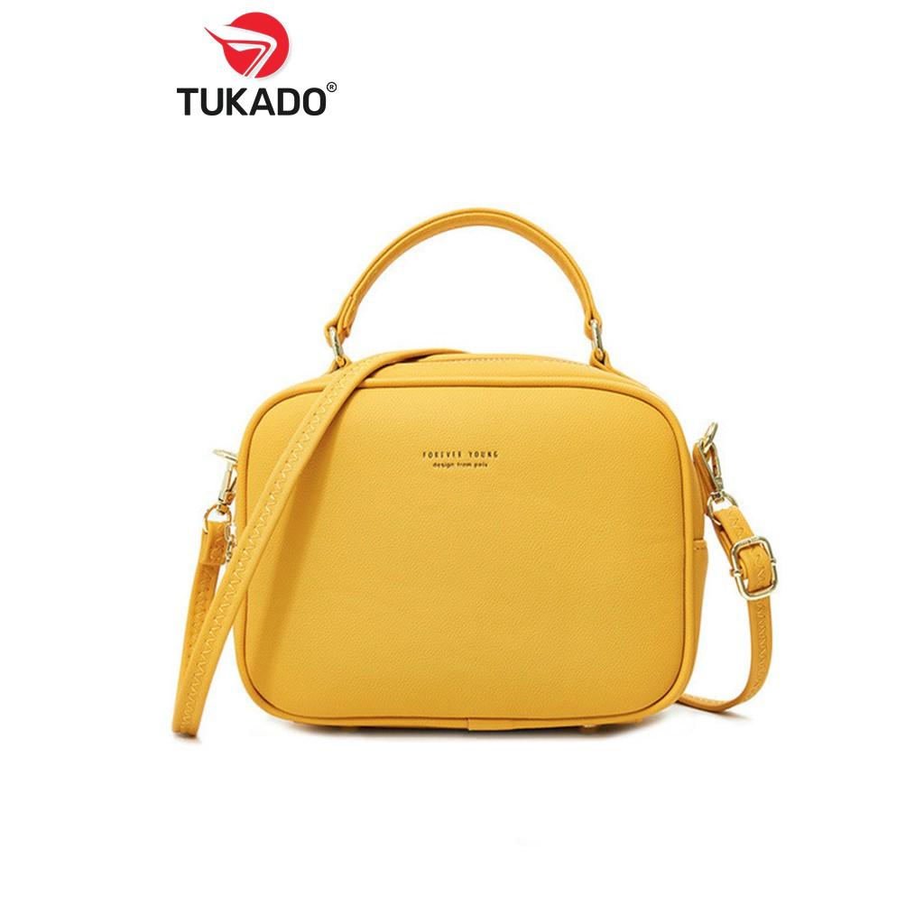 Túi Xách Nữ Đeo Chéo FOREVER YOUNG Dáng Công Sở Thời Trang Siêu Đẹp Style New 2020 FY35 - PL914-11 - Tukado