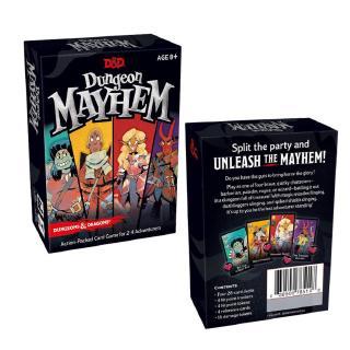 Bộ Thẻ Game Dungeon Mayhem Dungeon & Dragons Phiên Bản Tiếng Anh