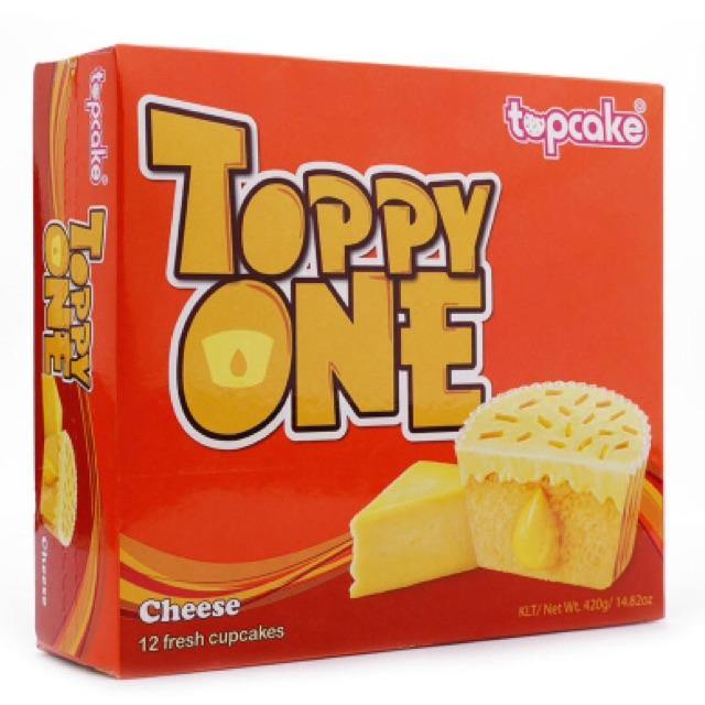 Bánh Cupcake sô cô la trắng nhân phô mai Toppy One 420g - 2570601 , 440750920 , 322_440750920 , 95000 , Banh-Cupcake-so-co-la-trang-nhan-pho-mai-Toppy-One-420g-322_440750920 , shopee.vn , Bánh Cupcake sô cô la trắng nhân phô mai Toppy One 420g