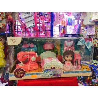 Mô hình phòng ngủ búp bê đồ chơi 160k