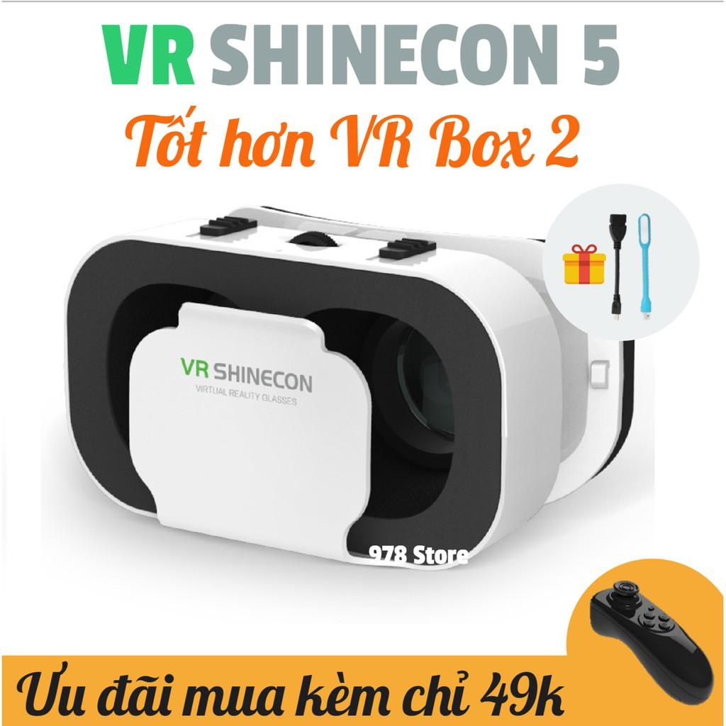 [TẶNG TK VIP][CHÍNH HÃNG] KÍNH THỰC TẾ ẢO VR SHINECON 5 | KÍNH VR SHINECON 5 | KÍNH 3D SHINECON 5