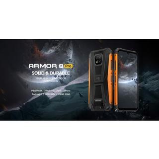 ĐIỆN THOẠI ULEFONE ARMOR 8 PRO - RAM 6G 8G- ROM 128G +CHÍP HELIO P60-8 NHÂN -SIÊU BỀN-Chống Nước Chuẩn IP69K thumbnail
