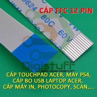 Cáp touchpad laptop Acer, cáp bo sạc PlayStation 4 PS4 12 pin AWM 20624 AWM 20706