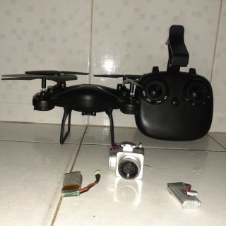combo máy bay TXD 8S full hộp tặng kèm hai pin và phụ kiện đầy đủ(có kèm camera và kẹp điện thoại)