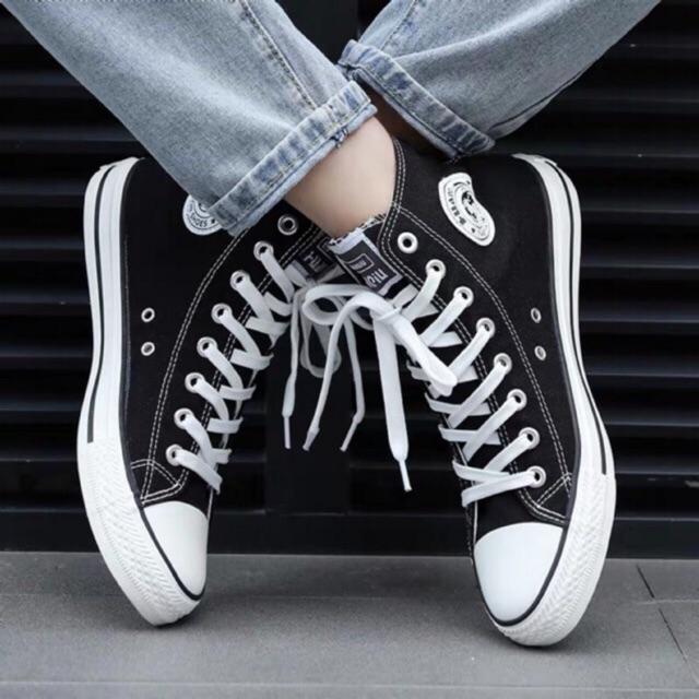 (3 màu) Giày thể thao nam cvs cao cổ ngôi sao xinchaobu