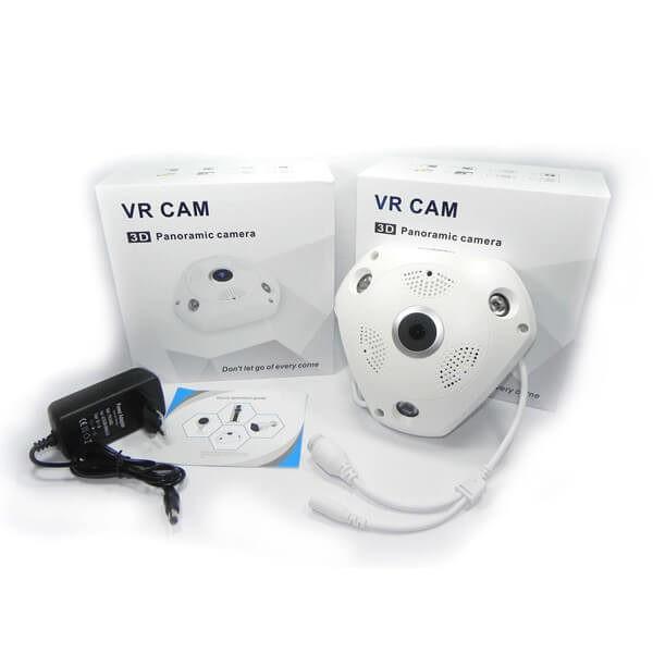 Camera IP thông minh VR Cam Xoay 360 độ