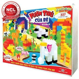 Đồ chơi xếp hình trẻ em Nhựa Chợ Lớn 327 – M1646-LR