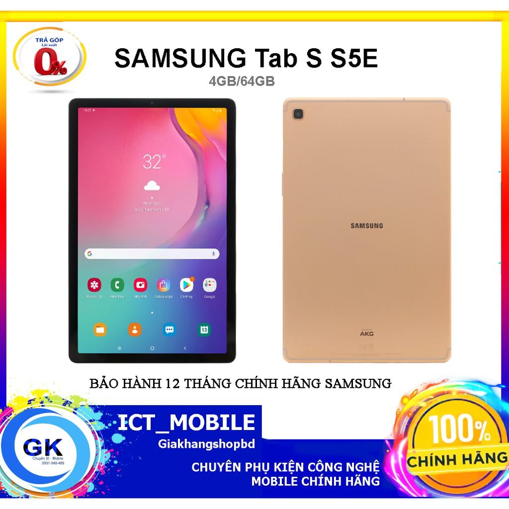 Máy tính bảng Samsung Galaxy Tab S5E T725 (2019) - Hàng Chính hãng