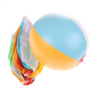 Colored Inflatable 30cm Ball Balloons Swimming Pool Play Party Water Ballo