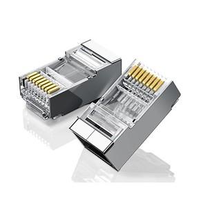 Đầu bấm dây cáp mạng bọc kim - Hạt mạng Internet RJ45 - Đầu mạng - Hộp hạt mạng cat5