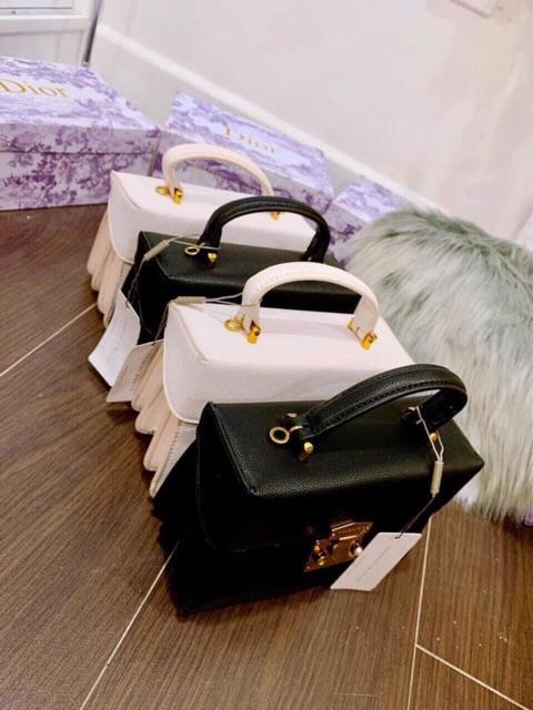 Túi cốp xách tay đeo chéo nữ đi chơi da mềm cá tính dễ thương nhiều ngăn LORIEN - Túi xách nữ size 19 mẫu mới loại đẹp