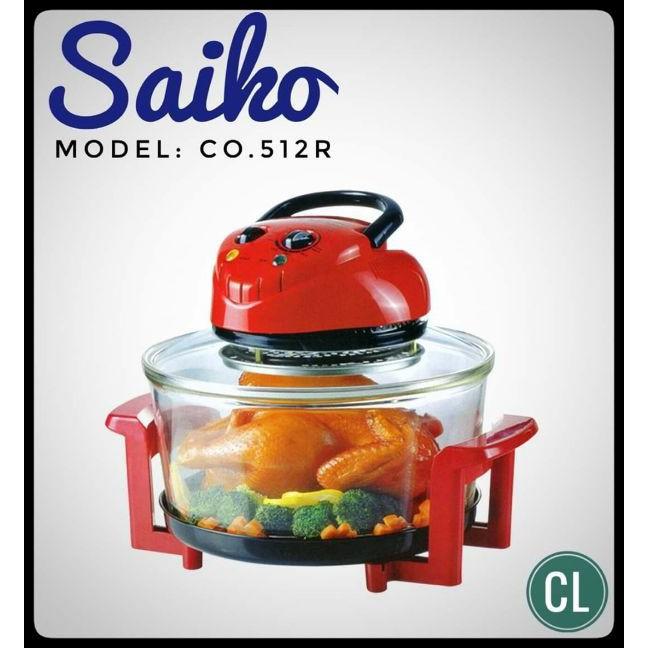 [Rẻ Vô Địch] Lò nướng thủy tinh Halogen Saiko CO-512R