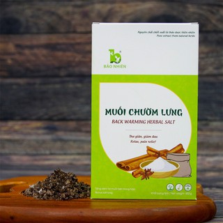 (Tặng túi chườm muối theo sản phẩm) Muối chườm lưng giảm đau, thư giãn 850g - Bảo Nhiên (Việt Nam) thumbnail