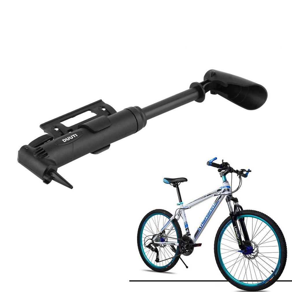 Ống bơm xe đạp mini đa chức năng và chất lượng cao kèm 3 đầu chuyển đổi van