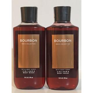 Sữa tắm và gội nam 2 trong 1 Bourbon - Bath and Body Works (295ml)