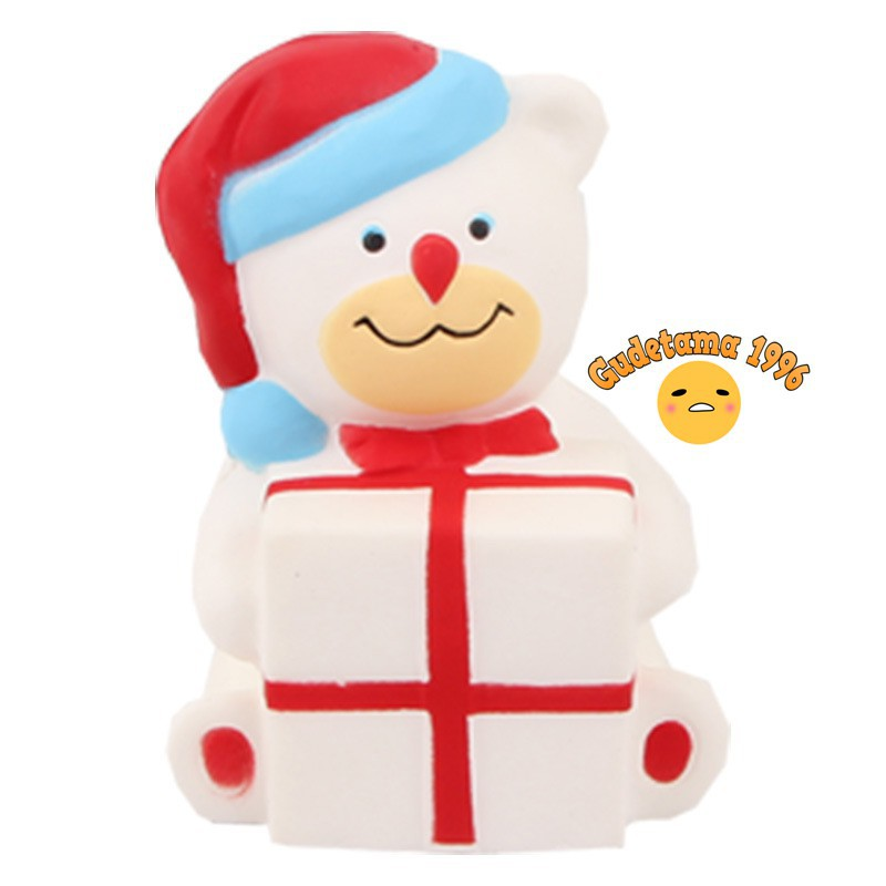 Squishy Gấu Giáng Sinh |shoprelc688 squishy