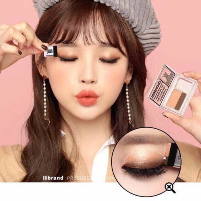 Follow Shop 16/04 PHẤN MẮT 16 BRAND SIXTEEN EYE MAGAZINE ALL ABOUT EYE