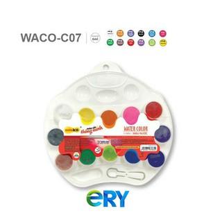 ❌BÁN SỈ❌ Vỉ 12 Màu Nước Colokit WACO-C07 – kèm 1 cọ
