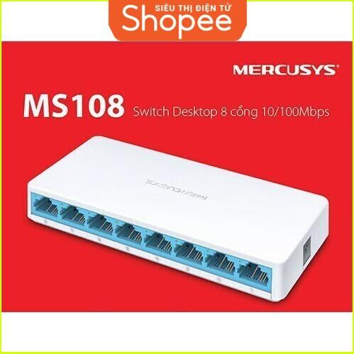 {SALE SIÊU KHỦNG} Bộ Chia Mạng 8 cổng Mercusys model MS108 10/100Mbps