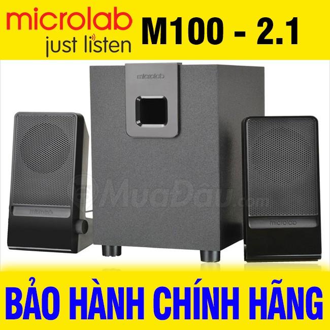 Loa Microlab M100, loa vi tính chính hãng