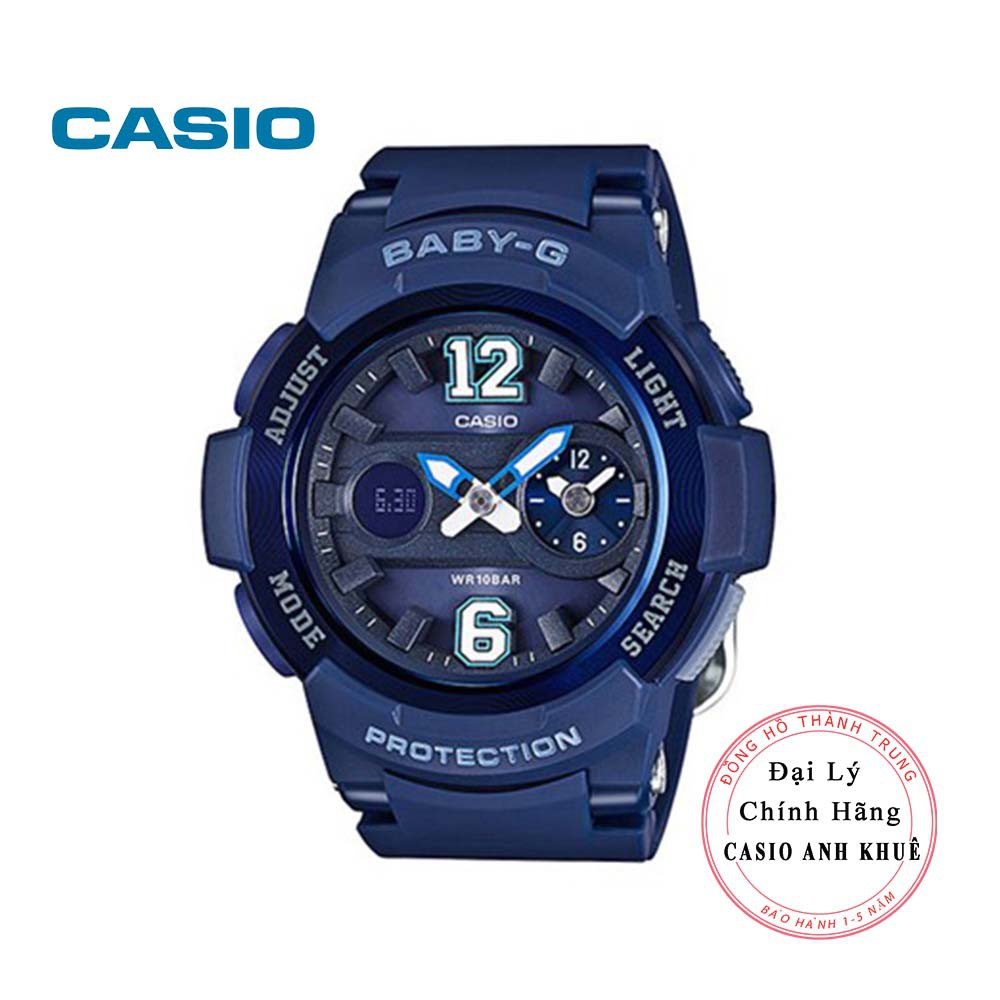 Đồng hồ nữ điện tử Casio BabyG BGA-210-2B2DR dây nhựa