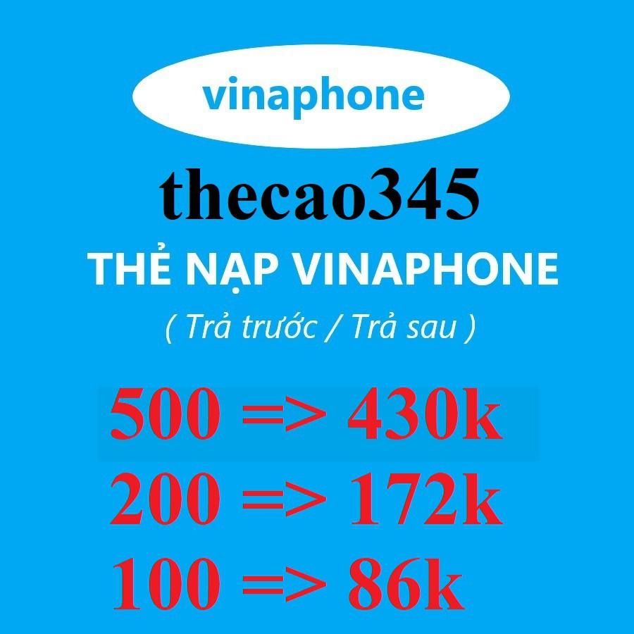 Thẻ cào điện thoại vinaphone rẻ nhất thiên hạ