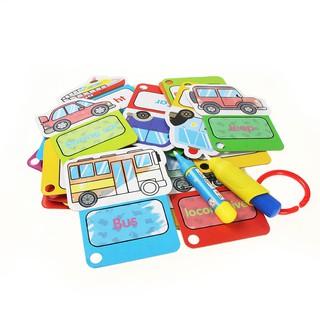 Bộ 30 flashcard hình xe giúp học tiếng Anh cho trẻ