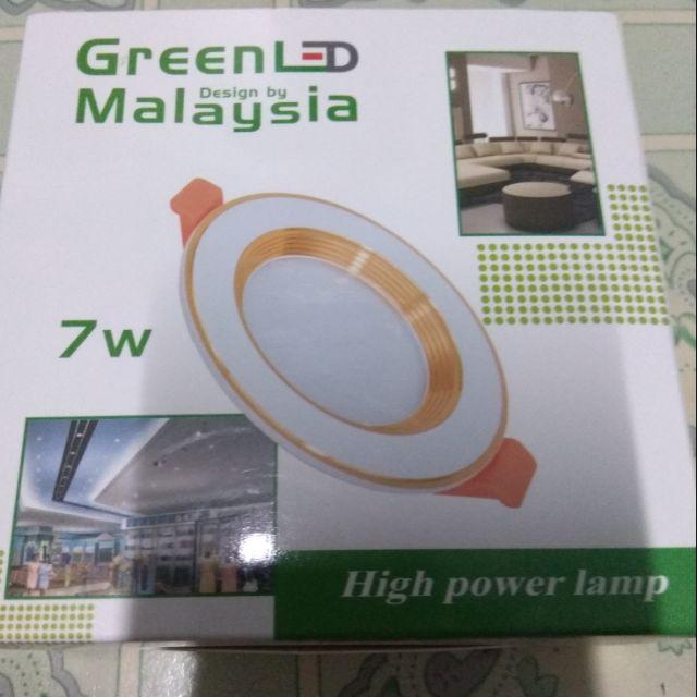 Bóng đèn led âm trần 7w viền vàng 3 chế độ màu - 21588244 , 1361389983 , 322_1361389983 , 65000 , Bong-den-led-am-tran-7w-vien-vang-3-che-do-mau-322_1361389983 , shopee.vn , Bóng đèn led âm trần 7w viền vàng 3 chế độ màu