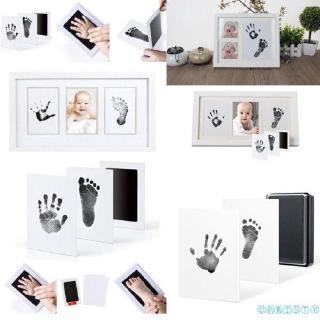 ✦♛✦Newborn Baby Handprint Footprint Safe Print Ink Pad Non Toxic Keepsake Gifts