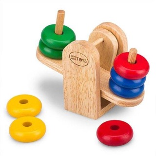 Cân bập bênh- đồ chơi gỗ