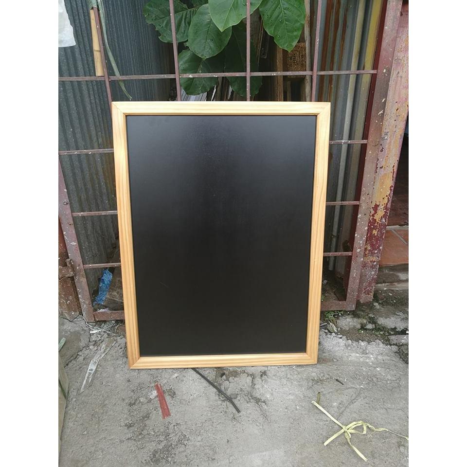 [ Bảng viết bút dạ ] - Bảng Flip chart, chân sơn đen, KT:60x100cm - bảng điều chỉnh được độ cao, gấp gọn