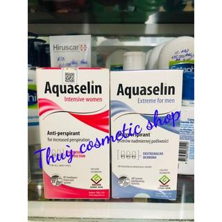 (CHÍNH HÃNG) Aquaselin Lăn Hỗ Trợ Khử Mùi Dành Cho Nam - Nữ ( DATE 2022) thumbnail