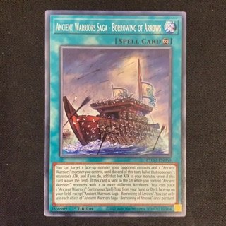 Thẻ bài Yugioh – Ancient Warriors Saga – Borrowing of Arrows – ETCO-EN069 – Common 1st Edition