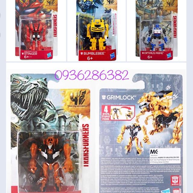 Đồ chơi Robot Transformers Age of Extinction Mini (4 mẫu- full box)