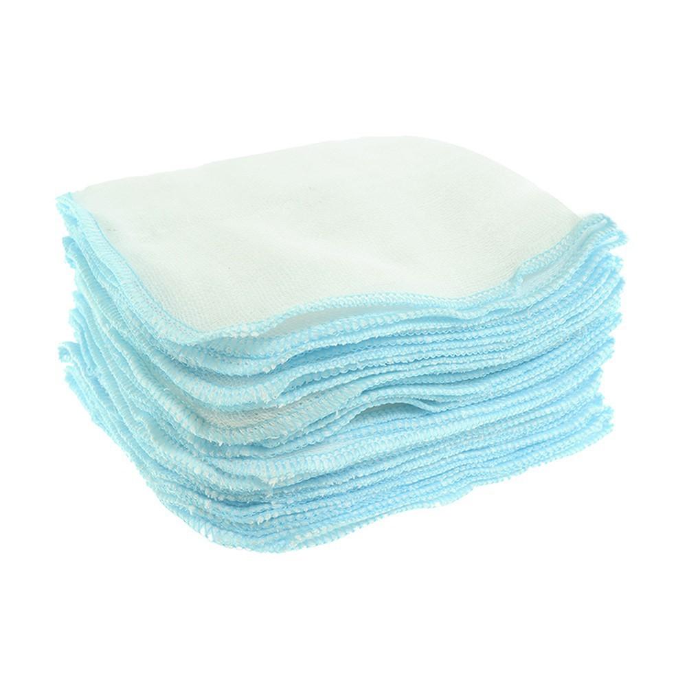 Khăn sữa gạc nhỏ 5 lớp Nanio _Bịch 10 khăn