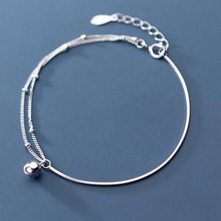 Vòng Tay Nữ Bạc ITALY S925 Màu Trắng Bạc Cao Cấp L2494 Bảo Ngọc Jewelry