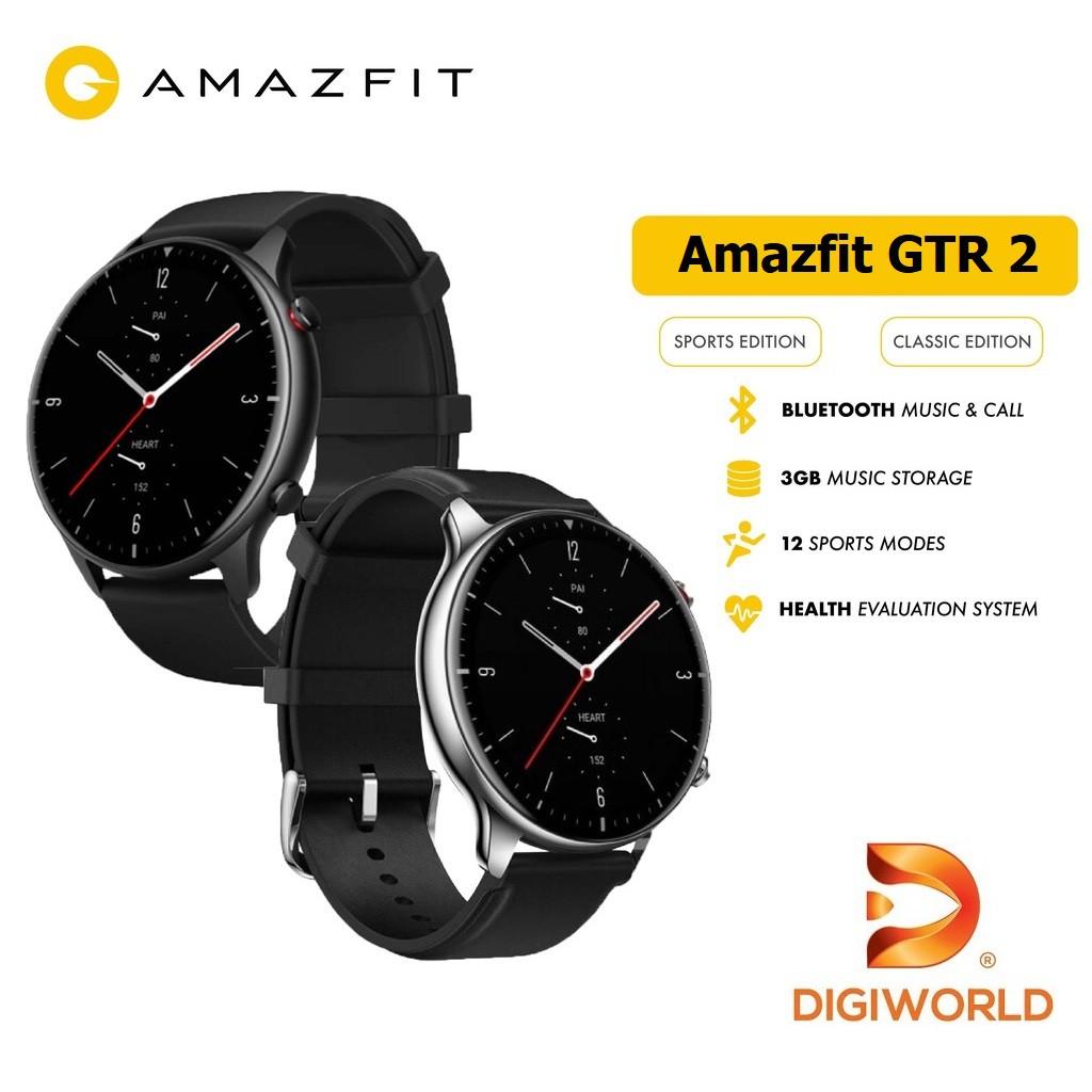 Đồng hồ thông minh Xiaomi Amazfit GTR 2 - Hàng Chính Hãng Digiworld - Phiên bản quốc tế - Bảo Hành 12 Tháng