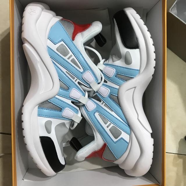 Giày thể thao LV Archlight trắng xanh - 3441221 , 1182324180 , 322_1182324180 , 900000 , Giay-the-thao-LV-Archlight-trang-xanh-322_1182324180 , shopee.vn , Giày thể thao LV Archlight trắng xanh
