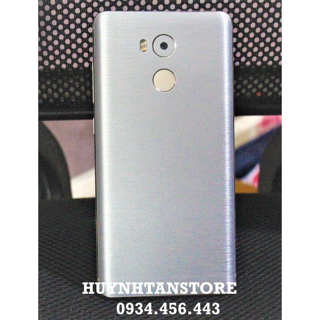 Skin Xiaomi Redmi 4 Prime_Dán nhôm xướt full mặt lưng và cạnh (không bao gồm logo)