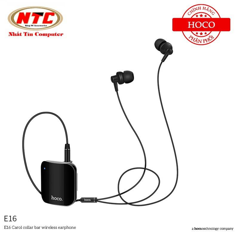 Tai nghe Bluetooth nhét tai Hoco E16 Caroll Collar Bar V4.1 - Hãng phân phối chính thức