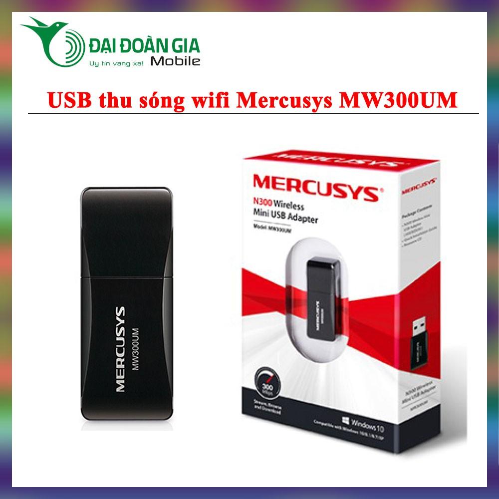 Mercusys MW300UM - USB thu phát sóng WiFi 300Mbps - Hút sóng cực mạnh - 3527203 , 1001346956 , 322_1001346956 , 125000 , Mercusys-MW300UM-USB-thu-phat-song-WiFi-300Mbps-Hut-song-cuc-manh-322_1001346956 , shopee.vn , Mercusys MW300UM - USB thu phát sóng WiFi 300Mbps - Hút sóng cực mạnh