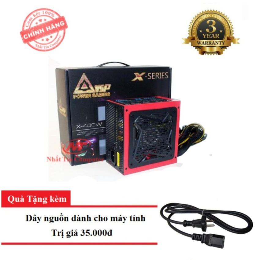 Nguồn công suất thực dành cho máy tính VSP X400W - Fan 12cm đèn led 4 màu (đen) + Tặng dây nguồn - 2511694 , 368880335 , 322_368880335 , 556000 , Nguon-cong-suat-thuc-danh-cho-may-tinh-VSP-X400W-Fan-12cm-den-led-4-mau-den-Tang-day-nguon-322_368880335 , shopee.vn , Nguồn công suất thực dành cho máy tính VSP X400W - Fan 12cm đèn led 4 màu (đen) + Tặ
