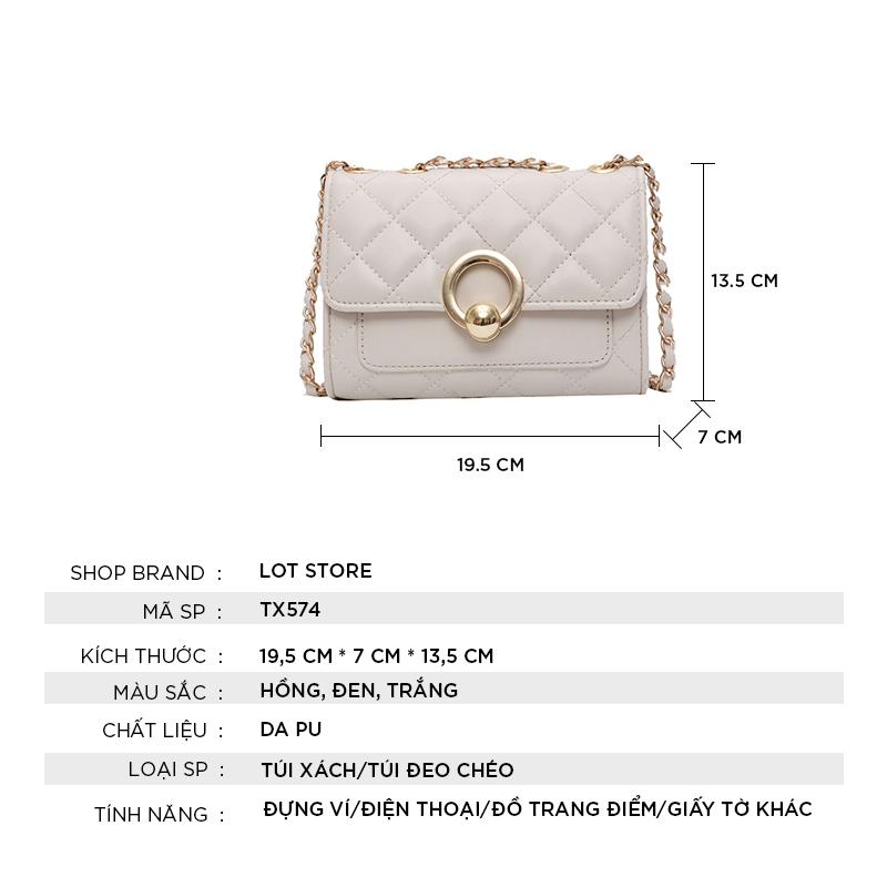 Túi xách nữ giá rẻ công sở thời trang cao cấp đẹp LOT STORE TX574