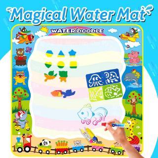 Bộ sản phẩm thảm vẽ màu nước và bút vẽ