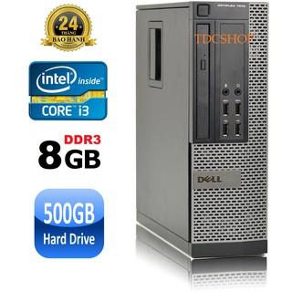 Máy tính để bàn Dell Optiplex 7010 intel Core i3 3220, Ram 8gb, Hdd 500gb - Bảo hành 24 tháng - Hàng Nhập Khẩu thumbnail