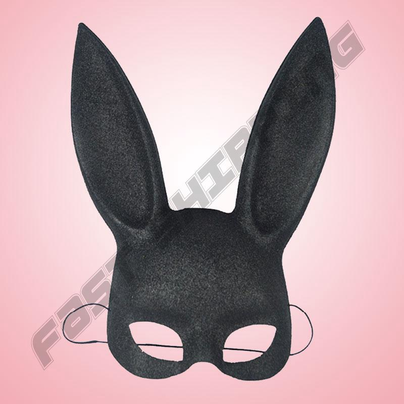 Halloween Rabbit Ear Cosplay Mask Cover Celebration Fancy Dress Jokes Pranks