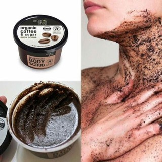 Hình ảnh Tẩy Tế Bào Chết Toàn Thân Organic Shop Organic Coffee & Sugar Body Scrub 250ml (Hương Cafe)-6